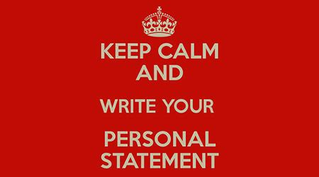What should be in a personal statement for college