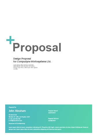 Type of design questionnaire research proposal